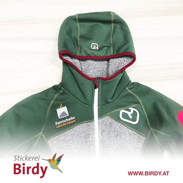 Bestickte Sweaterjacke von birdy