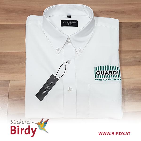 besticktes Hemd von Birdy