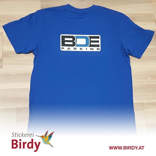 T-Shirt bestickt von birdy
