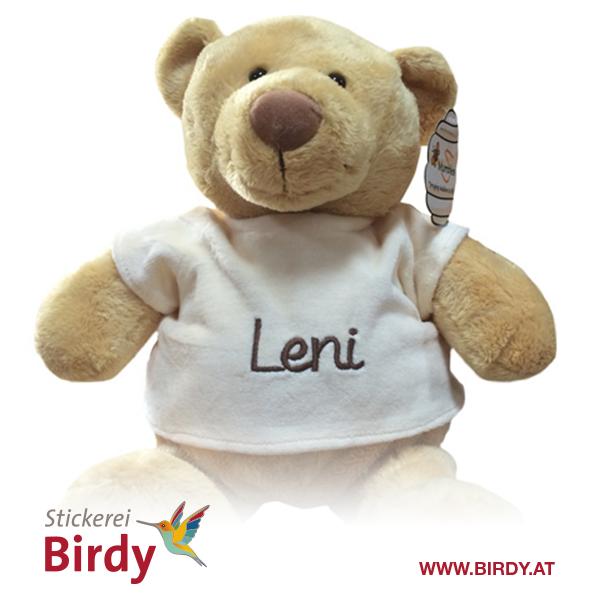 Bestickter Teddybär von birdy